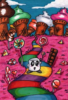 Mochi's Adventure  (Cover idea)