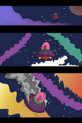 Space Pizza Page 1 (+ updates)!