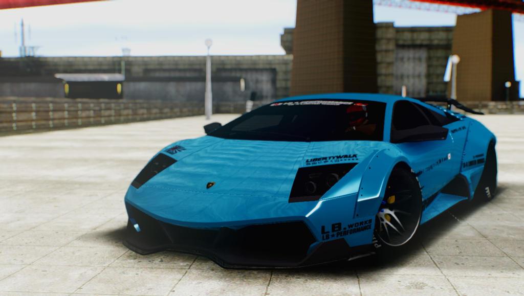 Lamborghini Murcielago Lp670 4 Sv Liberty Walk By G Manmobius On