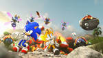 Sonic and Tails' Epic adventure for 28 years by G-ManMobius