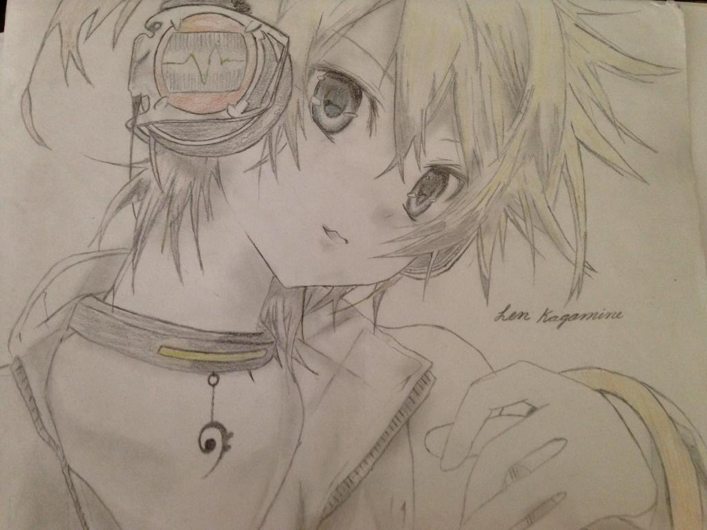 Len Kagamine (Updated) by IBeKatO3O