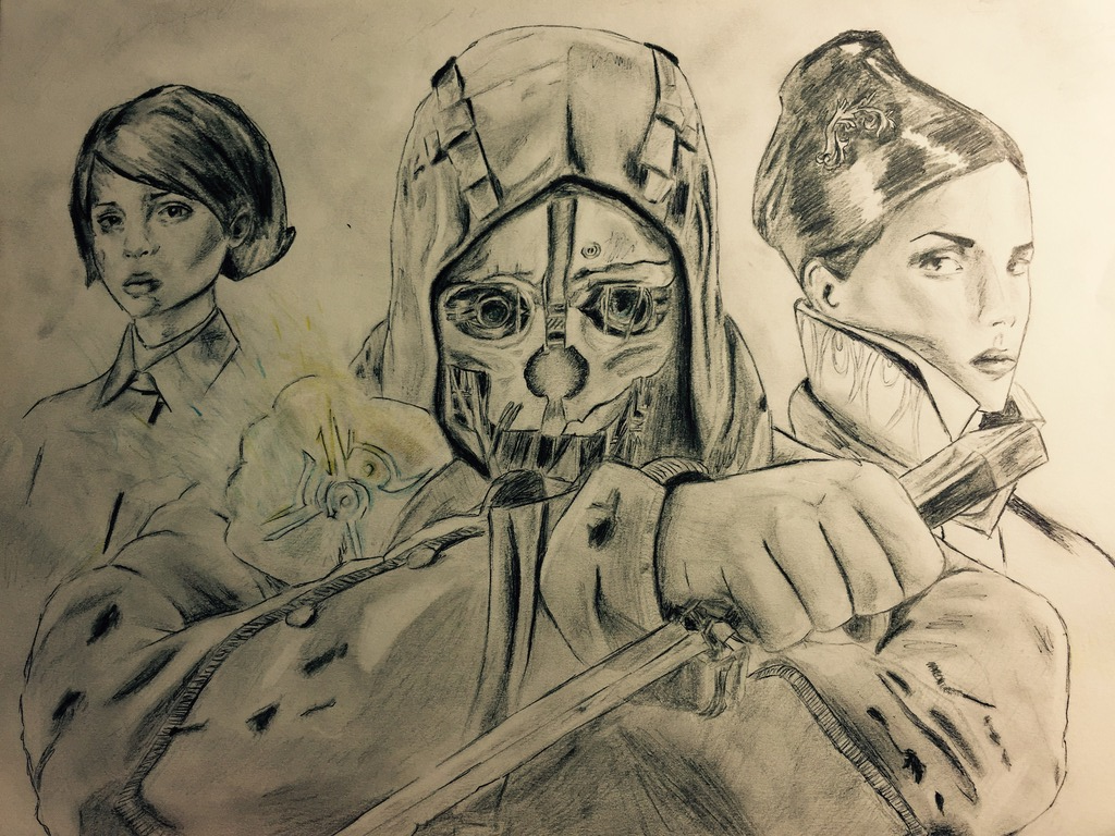 Dishonored by IBeKatO3O