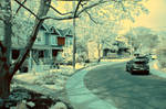 Street (infrared) by BossGettys