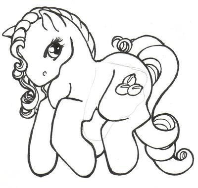 Mochacinno the Flutter Pony