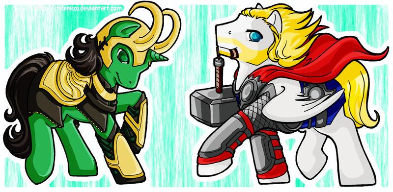 Odinsons Loki and Thor