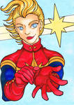 Captain Marvel by clueless-nu