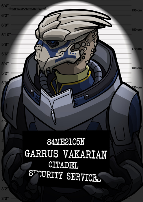 Mugshots Garrus