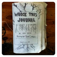 Wreck this journal 38 by Thomnommonster