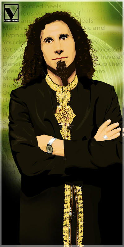 Serj Tankian by vinnyvieira