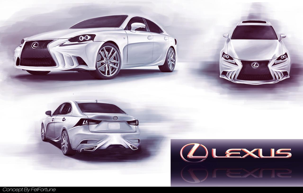 Lexus IS Concept by FelFortune