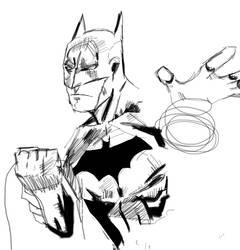 Batman WIP by Karantheartist