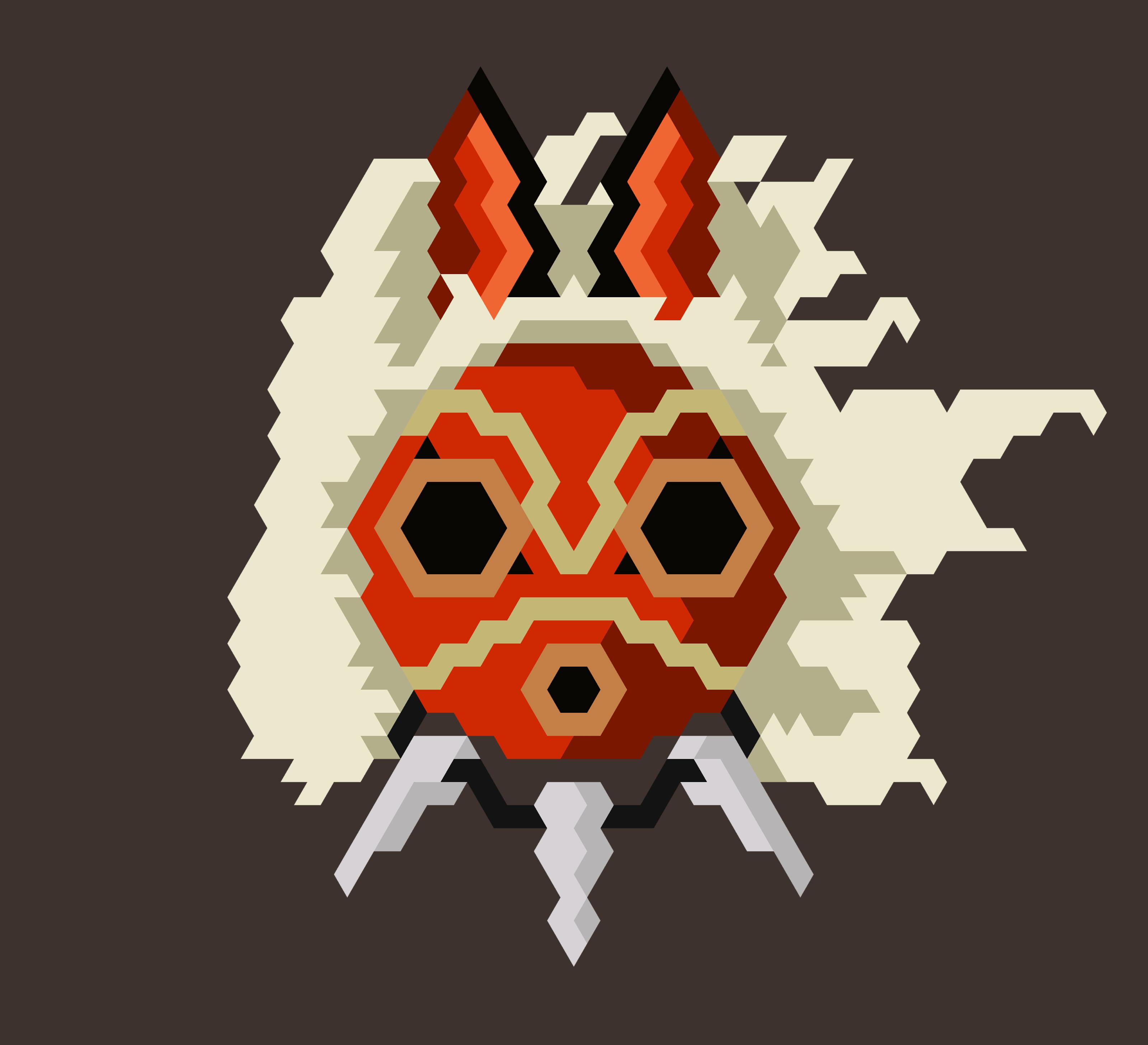 Princess mononoke san mask
