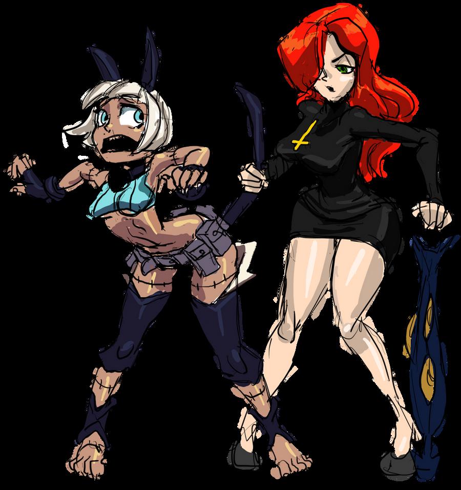 Skullgirls by Mr-Wolfe