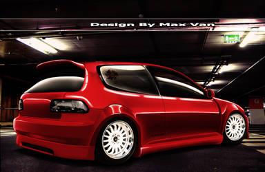 honda Civic By Max VAn