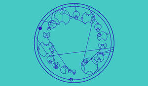 The TARDIS (Sentance in Gallifreyan)