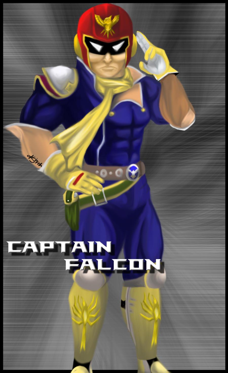 Captain Falcon by kshah