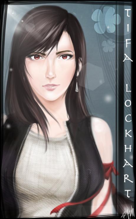 tifa lockhart by kshah
