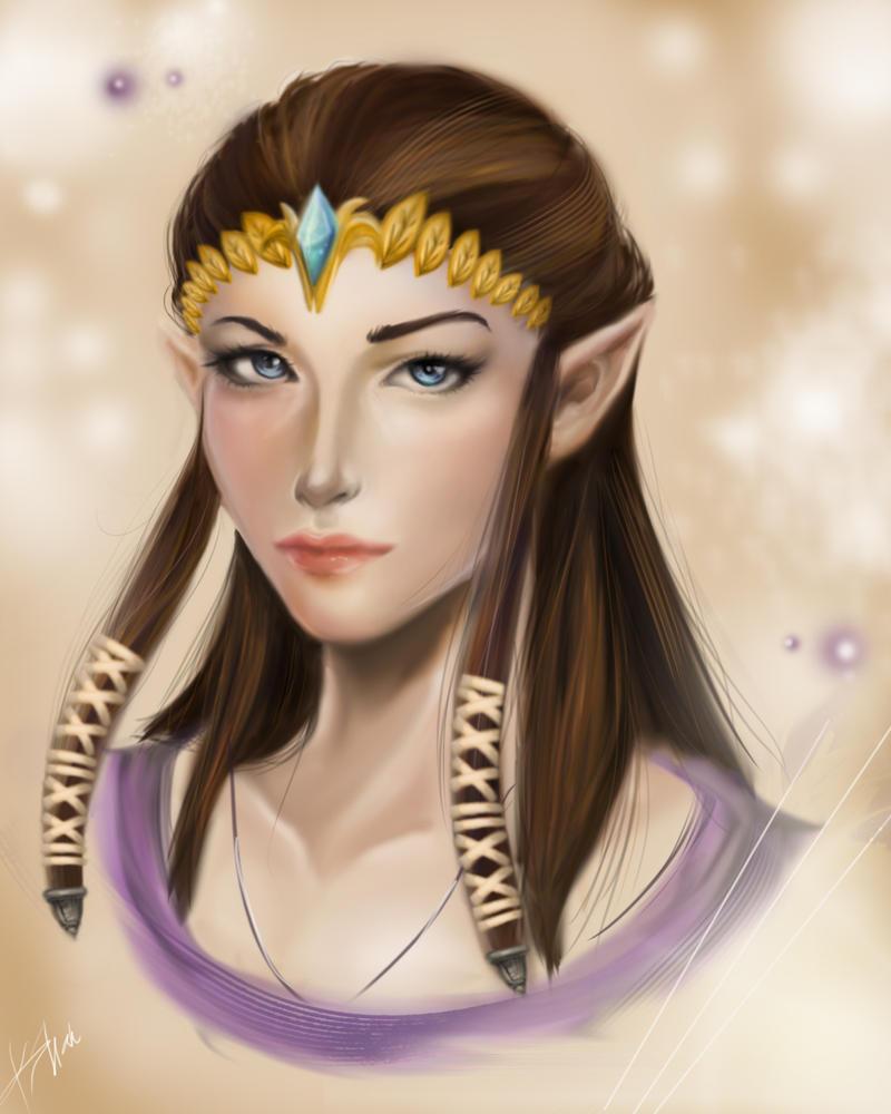 Zelda Portrait by kshah
