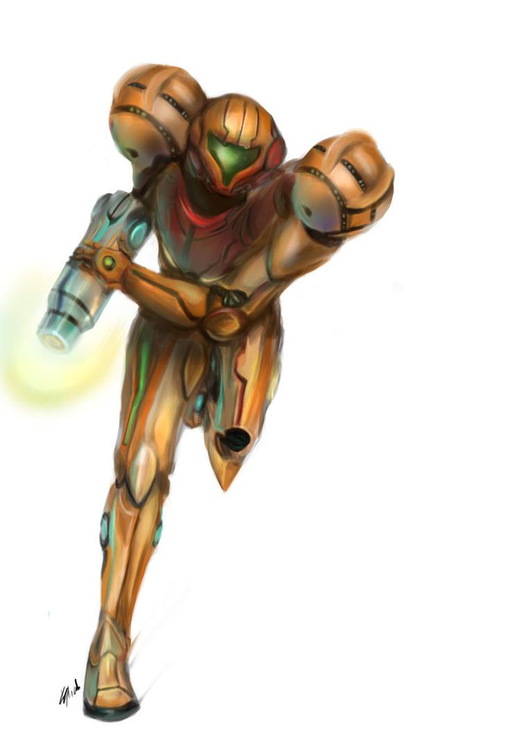 Metroid Samus by kshah