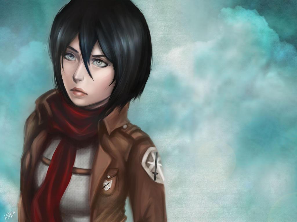 Mikasa Ackerman by kshah