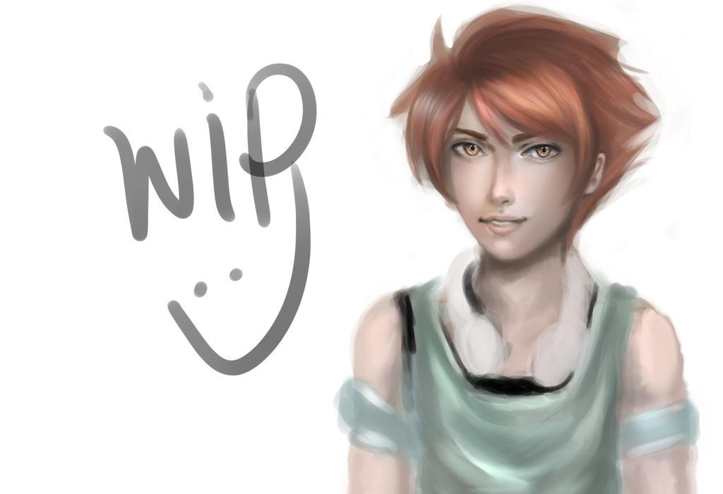 Hikaru WIP by kshah