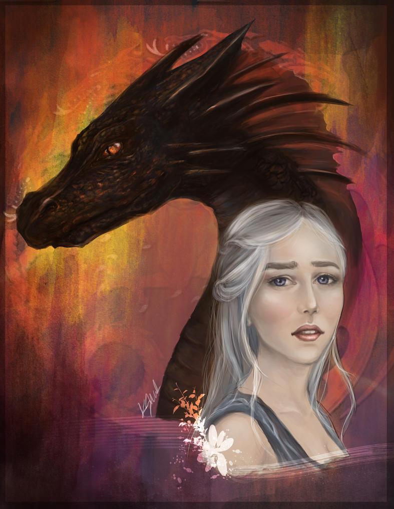 Daenerys Targaryen by kshah