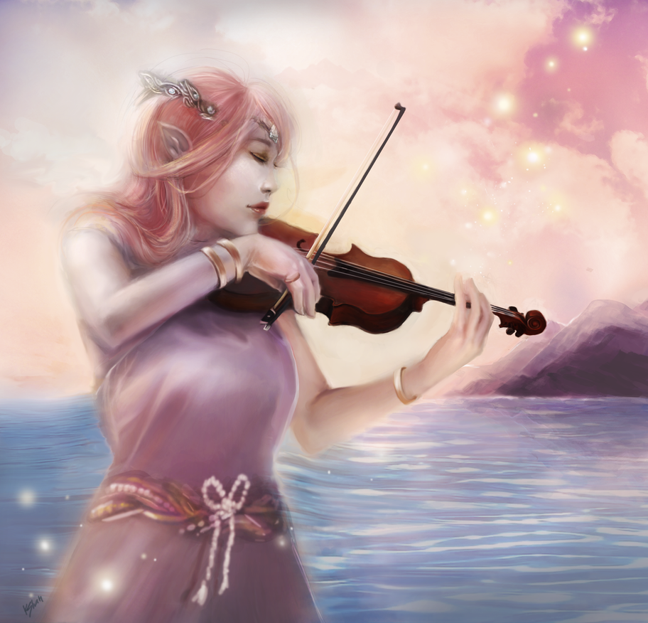 Violinist by kshah