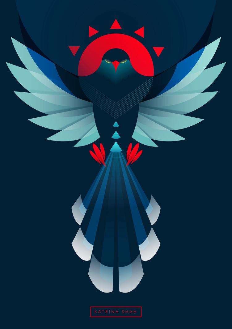 Taiwan Blue Magpie by kshah