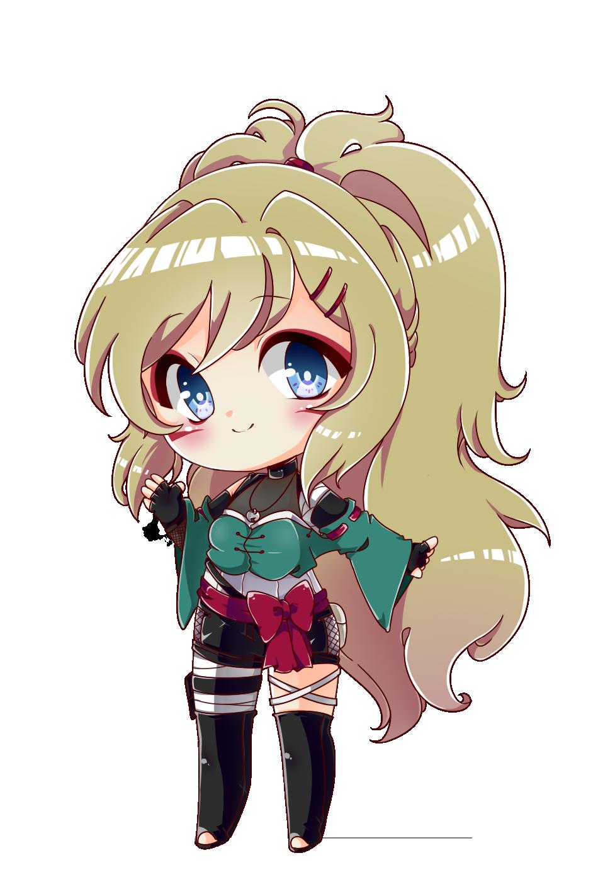 Neko Girl (Chibi White) by xxmusicgirl890xx on DeviantArt  |Chibi Anime Neko Girl