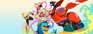 Big Hero 6 by blazeknight-94