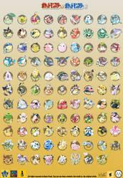 Pokemon Gold and Silver beta - FULL POKEDEX by blazeknight-94