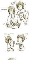 APH: Greece and Japan Nekomimi by yunichan
