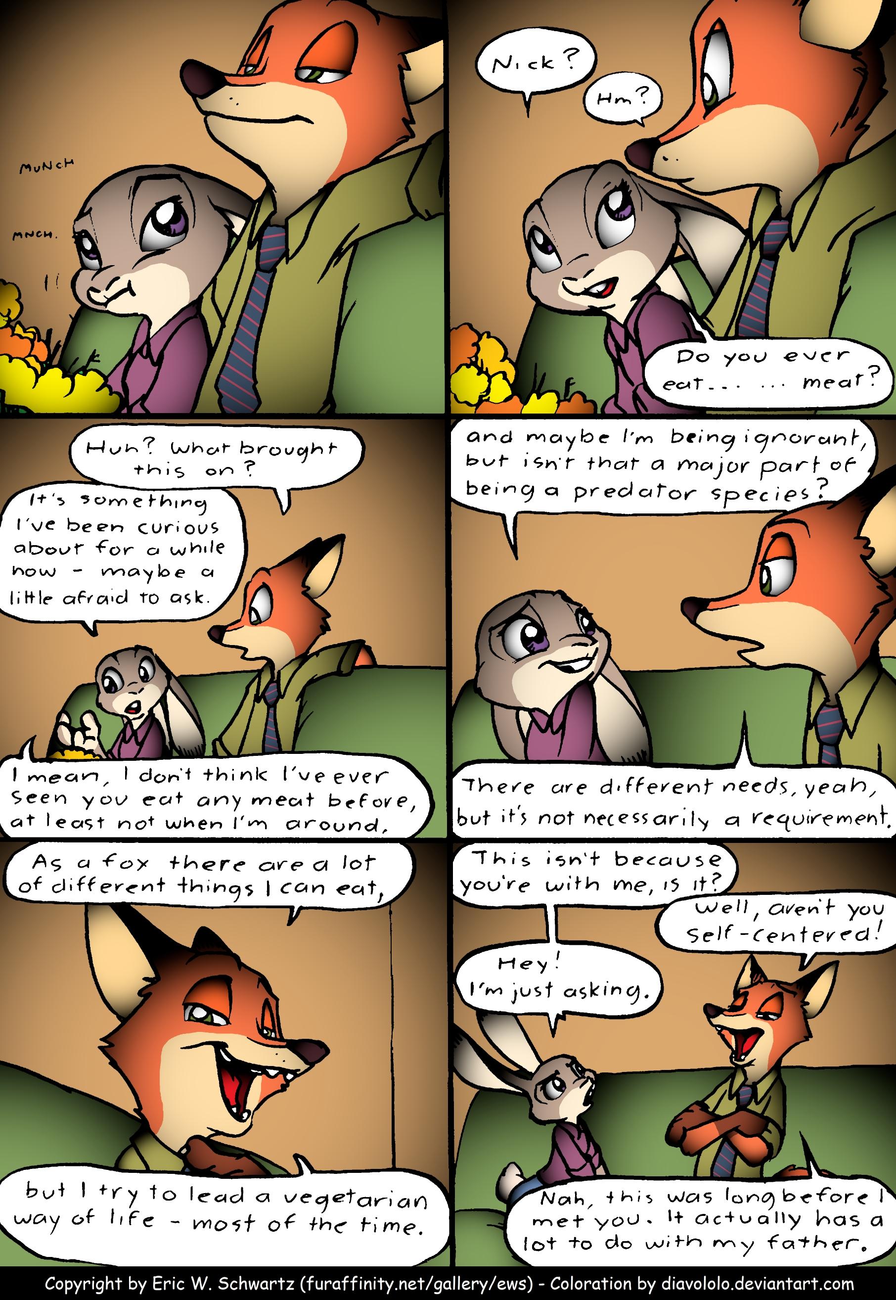 Dinner Conversation 2 by Diavololo on DeviantArt