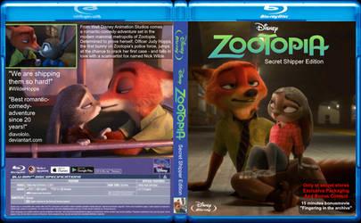 Zootopia - Secret Shipper Edition - Blu Ray Cover