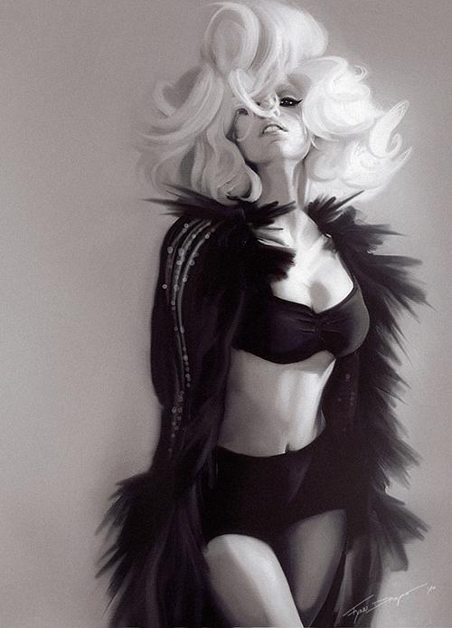 LADY GAGA by mFynn