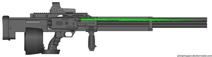 My Minigun by hollywo100