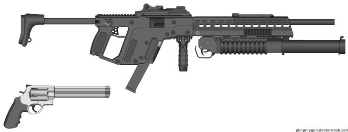 M666 and  Revolver