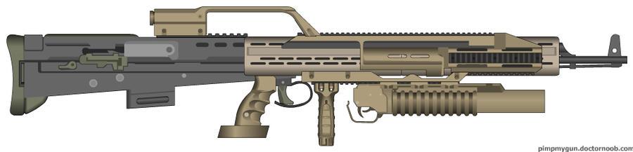 hollywo100 Assault Rifles