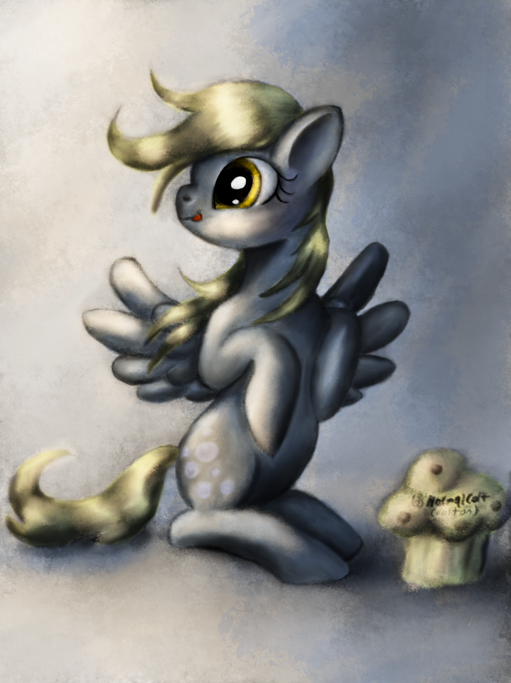 Derpy In Color By Normalcolt (colton) by normalcolt