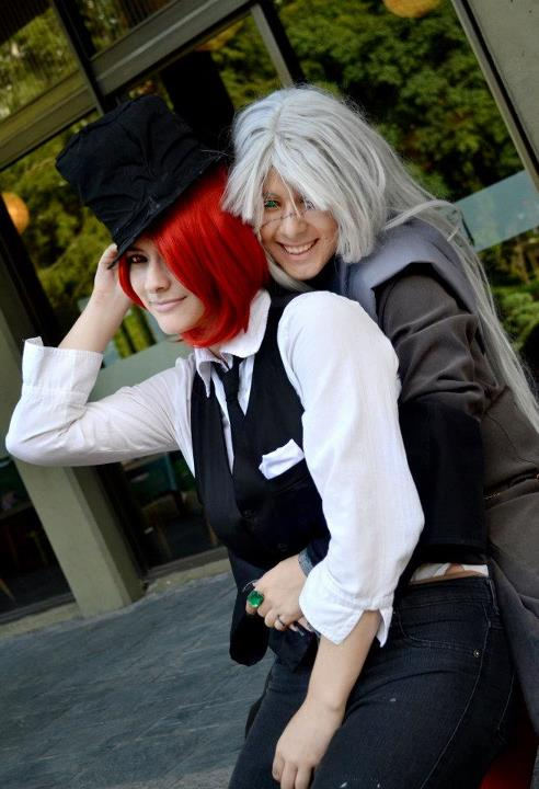 Grell Sutcliff and Undertaker by selenevamp