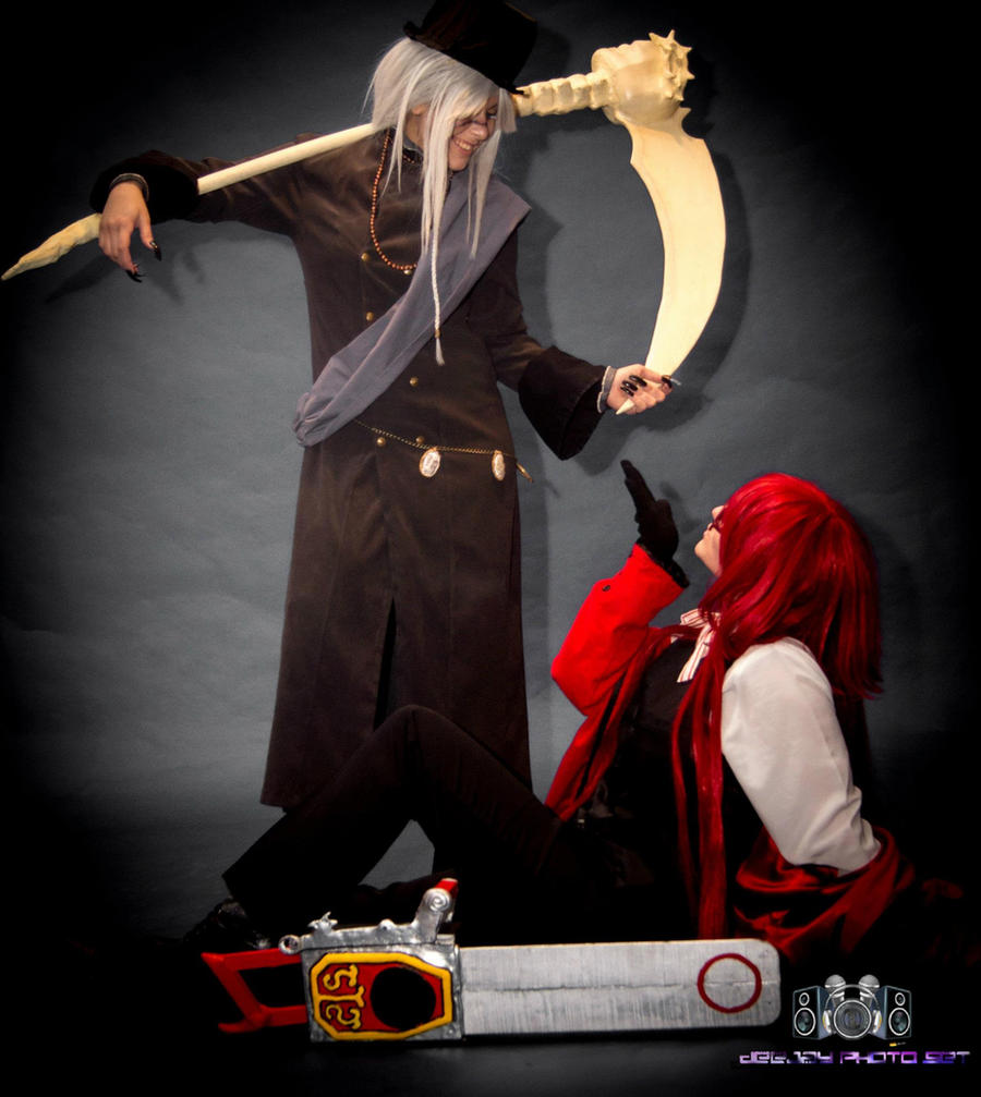 Grell Sutcliff and Undertaker by selenevamp on DeviantArt