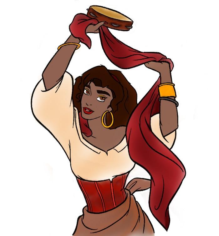 Colored Esmeralda by NieveSangrienta