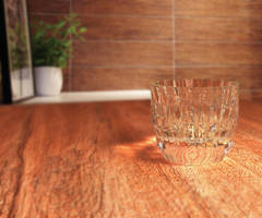 Glass without water