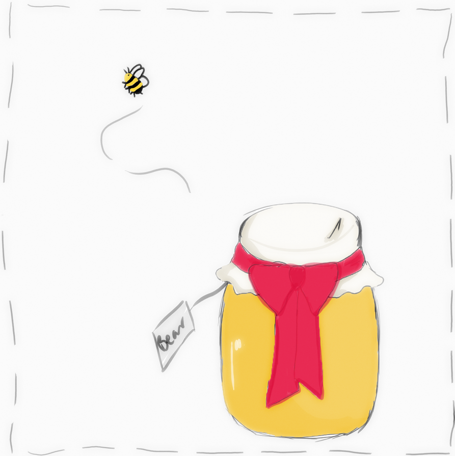 Honey Jar by IzzySparky