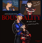MK11 - Sonya and Scarlet by EyeOnTheDrawings