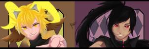 Kiruru and Voning Human by kiruru2592