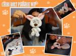 Chibi Bolt pup Plushie WIP