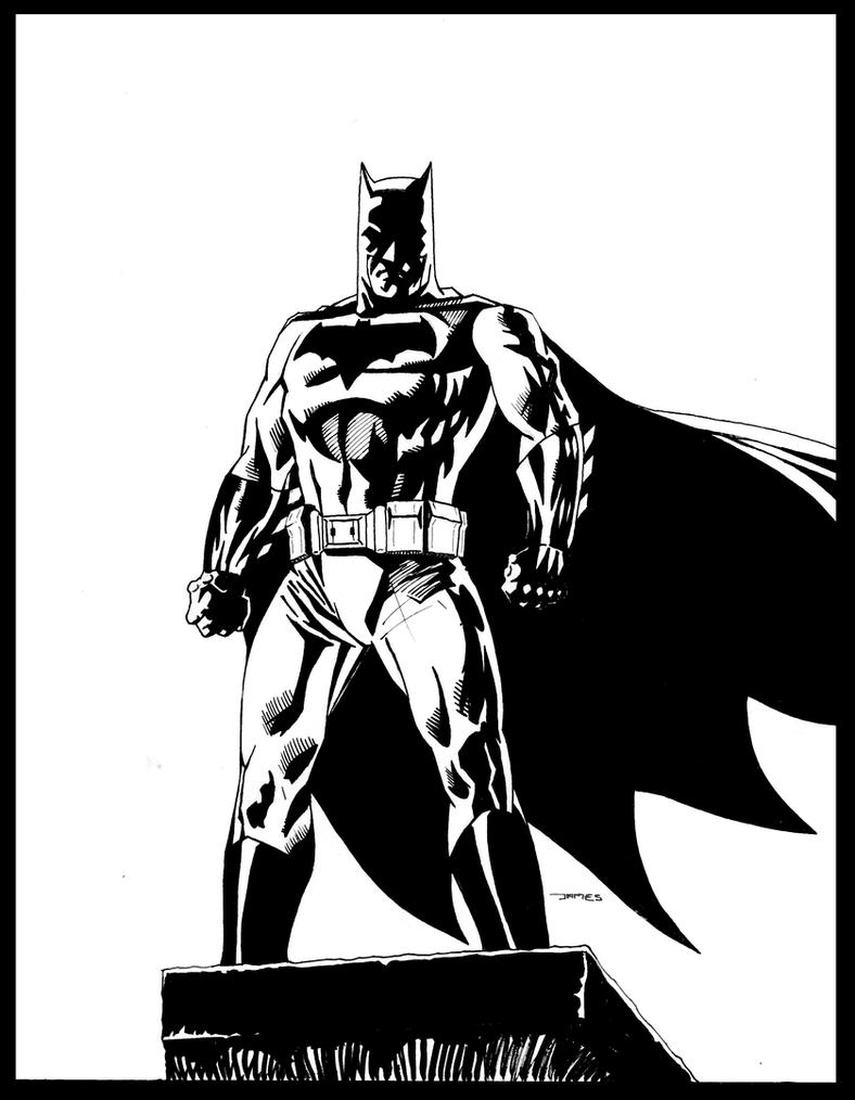 Batman: Dawn of Justice (After Andy Kubert) by jstewart93