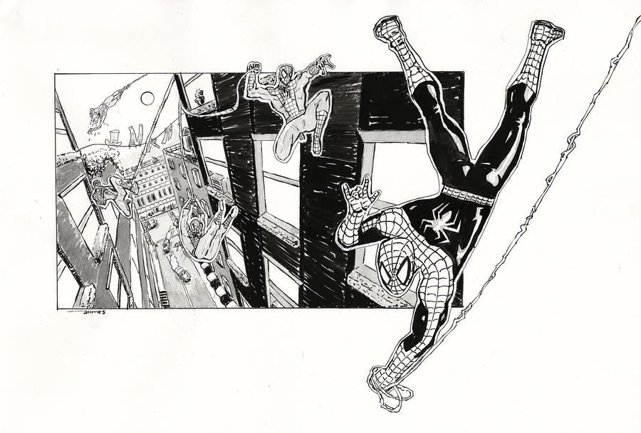 Spider-Man Swing by jstewart93