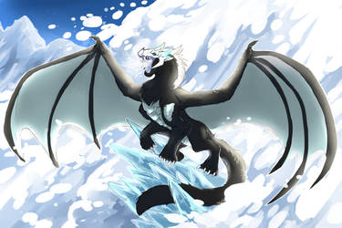 Commission: KING OF THE NORTH by saltdragon